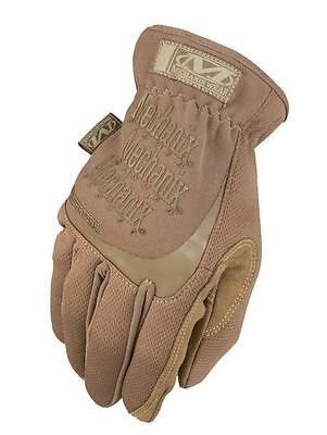 Genuine Mechanix Antistatic Fast Fit Coyote Gloves all sizes Tactical Fastfit