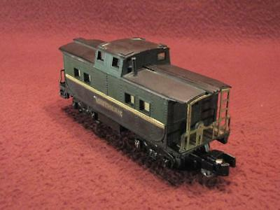 S American Flyer Southern Caboose - Green/black - Custom