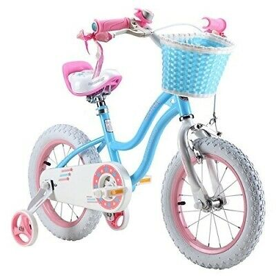 """R BABY STAR GIRL PRINCESS  GRIL'S BIKES IN SIZE 12"""" 14"""" 16""""  COLOUR RED & BLUE"""