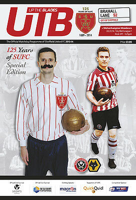 2013/14 - SHEFFIELD UNITED v WOLVES (125 YEAR SPECIAL EDITION - 22nd March 2014)