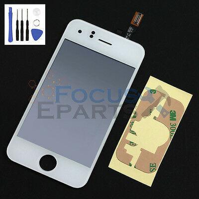 White Replacement LCD Touch Screen Glass Digitizer + Tools for Apple iPhone 3GS