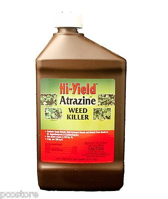 Hi-Yield Atrazine Pre and Post Emergent Weed Killer  32oz