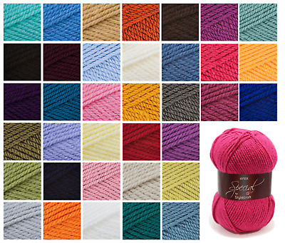 Aran Wool , Stylecraft Special Aran 100g Soft Knitting & Crochet Acrylic Yarn