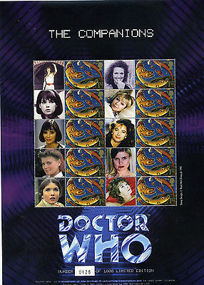 """Gb - Doctor Who 1St Ever Smiler """"the Companions"""" - Limited Edition Sale Price"""