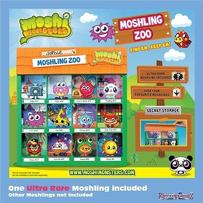 Moshi Monsters Moshling Zoo - Includes Ultra-Rare Moshling - New & In Stock!