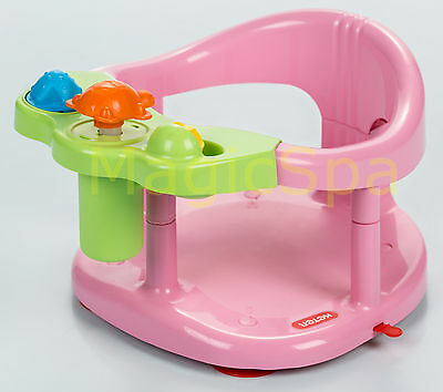 Infant Baby Bath Tub Ring FUN Seat  Keter PINK New in BOX Fast Shipping From USA