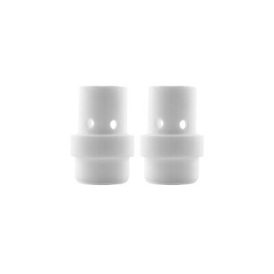 Gas Diffuser MIG  - MB26 - Long Life - White Ceramic - 2 Pack - Binzel Style