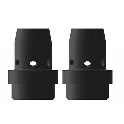 Gas Diffuser MIG  - MB40 - Long Life - Black Duroplast - 2 Pack - Binzel Style