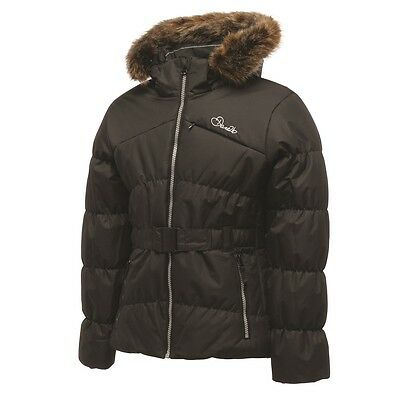 Girl's Dare2B Wondrous Black Waterproof And Windproof Ski Wear And Winter Jacket