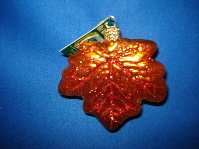 Old World Christmas Maple Leaf Ornament 48022 36 2