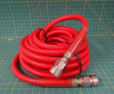 Ecolab 50-Foot Hot Water Hose w/ Tomco 6ST Stainless-Steel Fittings  52601-22-00