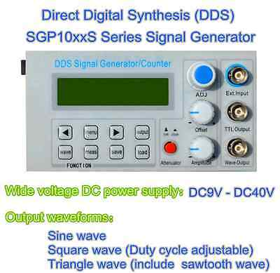 5MHz DDS function signal generator, frequency meter, square wave pulse test