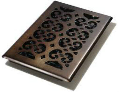 DECOR GRATES-OIL RUBBED Bronze 6 X 10 Steel Floor and Wall