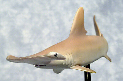 Scalloped Hammerhead Shark 1/20 Scale Realistic Resin Figurine Display Model New