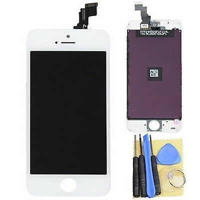 LCD Display and Touch Screen Digitizer Assembly For iphone 5C White with tools