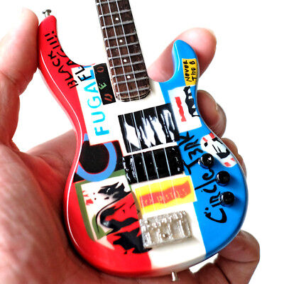 Miniature Guitar Flea Red Hot Chili Peppers Psychedelic Bass Cool