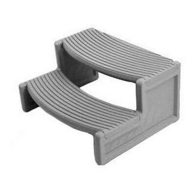 Confer HS2G Handi Step for Straight-Sided/Rounded Spa - Light Grey HS2-G