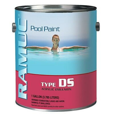 Ramuc DS31101 Type DS Acrylic Water Based Technology Pool Paint 910131101