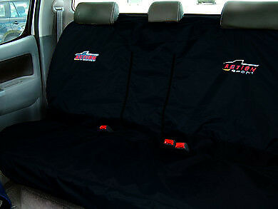 Black Toyota Hilux Pickup Truck Crew cab Covers Front & Rear Quality Protectors
