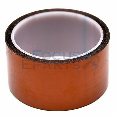 50mm X 100Ft Gold High Temperature Heat Resistant Kapton Tape Polyimide BGA US