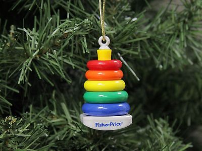 Fisher Price Rock-A-Stack, Rock A Stack Christmas Ornament