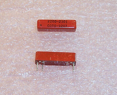 2200-2301 Coto Reed Relay Spst-No 5V....free Shipping