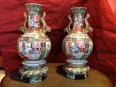 Antica Coppia Di Vasi Cinesi Antique Pair Of Chinese Jars