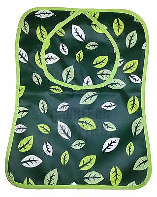 Addis Laundry Sense Peg Bag Green Leaf Design With Hanger