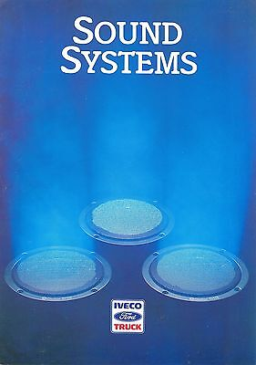 Iveco Ford Sound Systems Brochure