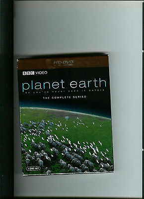 Planet Earth - Bbc Hd-Dvd (Old Style)  Complete Series - 4 Disc Set