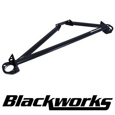 Blackworks BWR 3-Point Aluminum Front Strut Bar 92-00 Civic / Del Sol EG EK 3pt