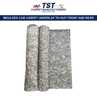 Underlay To Suit Moulded Car Carpet Front And Rear