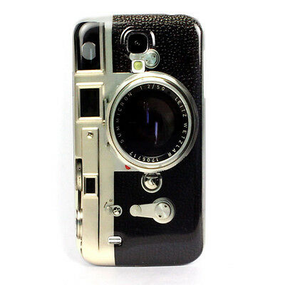 Cool Retro Camera Skin Hard Back Case Cover For Samsung Galaxy SIV S4 I9500