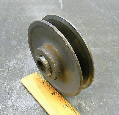 """Browning 1Vl44-5/8"""" Variable Pitch Sheave Belt Pulley Timing Pulley 4-3/16"""" Od"""