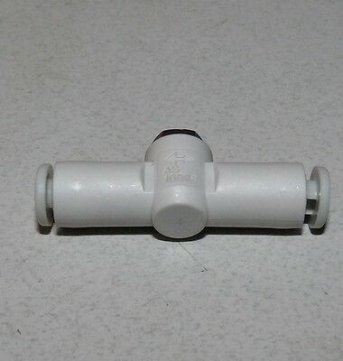 New Smc As1001F-04-10-X250 Speed Control Connector With Fitting Tube