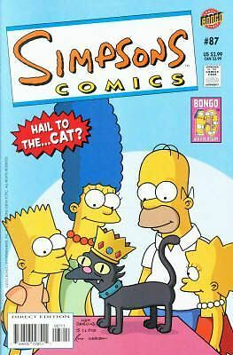 Bongo comics Simpsons #87 NM FREE UK POST