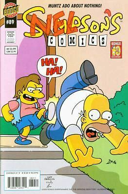 Bongo comics Simpsons #89 NM FREE UK POST