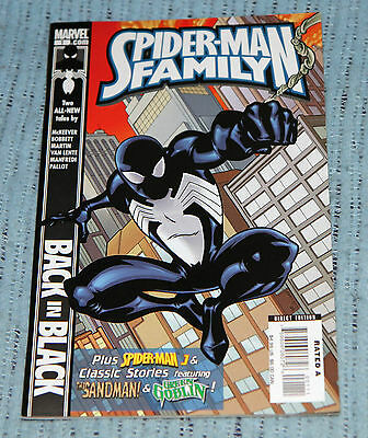 Spider-Man Family #1 Amazing #176 Green Goblin Untold Tales #3 Sandman 104 Pages