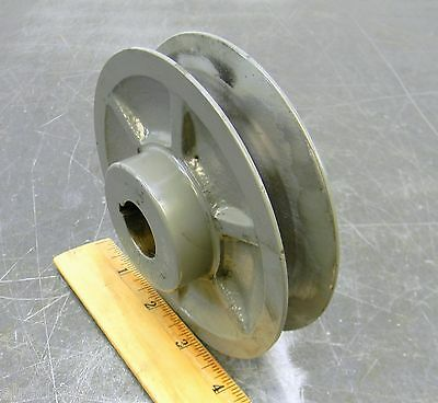 "Power Drive Ivm50 7/8 Variable Pitch Sheave Belt Pulley Timing Pulley 4-3/4"" Od"