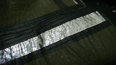 """Usgi Genuine Combat Casualty Blanket Olive Drab Silver 84"""" X 56"""" Made In Usa New"""