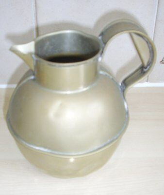 Large Old English Silver Plated Cream Jug Made by WG&S