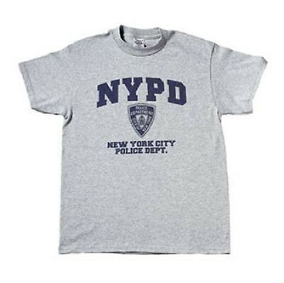 US NEW YORK NYPD POLICE DEPARTMENT OFFICIALLY LICENSED Polizei SPORT SHIRT XL