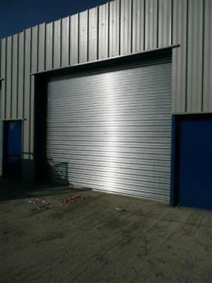 ELECTRIC ROLLER SHUTTER DOOR - made to measure - up to 3000mm wide x 3000mm high