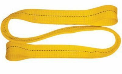 NYLON CRANE LIFTING SLING EE2-903x6FT TOW AXLE CLEVIS SHACKLE DOLLY WRECKER  /'