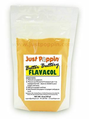 Better Buttery Flavacol - Theater Popcorn Seasoning Butter Flavor 16oz