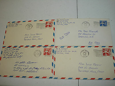 FT FORT SILL OK 1962 4th HOWITZER BN 76th FA Field Artillery 10 covers JUL MASON