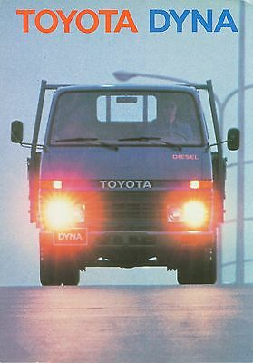 Toyota Dyna Brochure (Dutch)