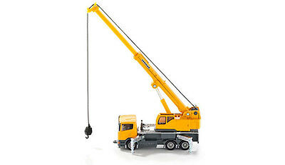 Siku Super 1859 1:87 Liebherr 3-axle Telescopic Crane Truck Vehicle Car Model
