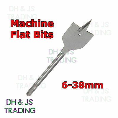Machine Flat Wood Drill Bits - All Metric Sizes Spade Bit Walleted High Quality
