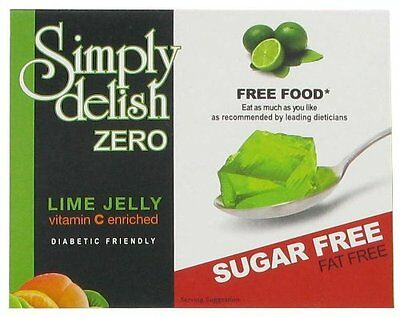 Sugar Free Lime Jelly-8g,Fat Free, Dukan, Low Carb,Atkins,Diabetic,Gelatin Free